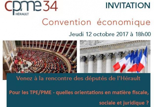 Convention Economique CPME Hérault