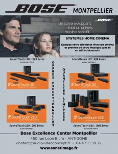 PROMOS BOSE SYSTEMES HOME CINEMA