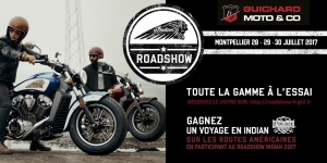 ROADSHOW INDIAN 2017 chez Guichard Moto & Co